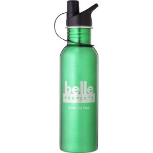 Green Water Bottle in 2 sizes