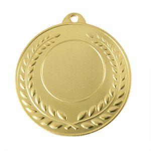 1042BR: Generic 25mm Centre Wreath Medal