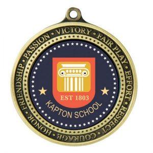 1051BR: Supreme Medal Values-50mm insert