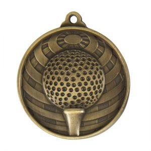 1073-10BR: Global Medal-Golf