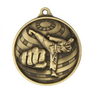 1073-11BR: Global Medal-Martial Arts