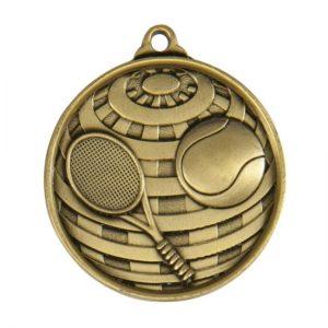 1073-12BR: Global Medal-Tennis