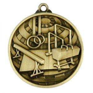 1073-20BR: Global Medal-Gymnastics