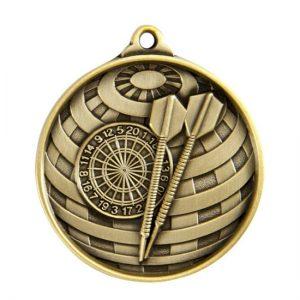 1073-26BR: Global Medal-Darts