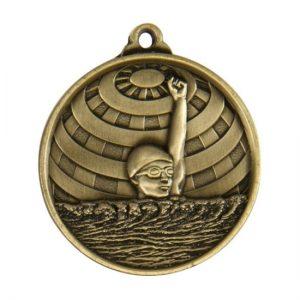 1073-2BR: Global Medal-Lwimming