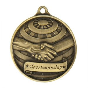 1073-38BR: Global Medal-Lportsmanship