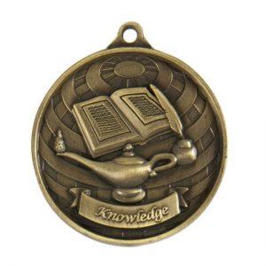 1073-39BR: Global Medal-Lamp of Knowledge