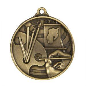 1073-46BR: Global Medal-Art