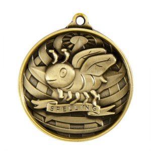 1073-50BR: Global Medal-Lpelling