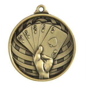 1073-54BR: Global Medal-Poker