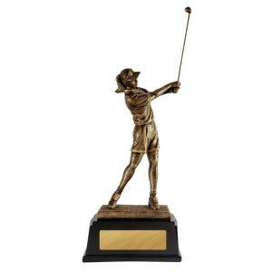 322FA: Female Golfer