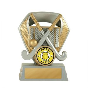 Shield Series Hockey Trophy With 25mm Centre