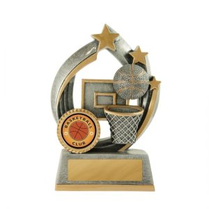 Atomic Series Basketball Trophy With 25mm Centre