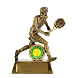 All Action Hero-Tennis Female With 25mm Centre