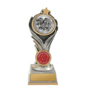 Drama Trophy With 25mm Centre