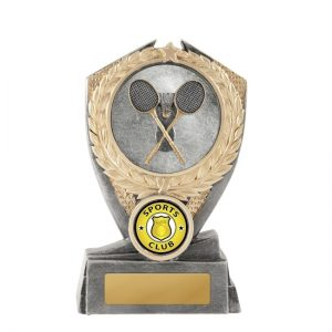 Hero Shield Badminton Trophy With 25mm Centre