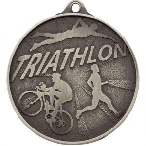 Triathlon Medal Gold