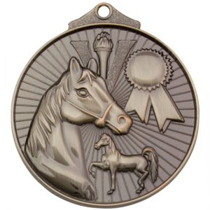 Equestrian Medal Gold