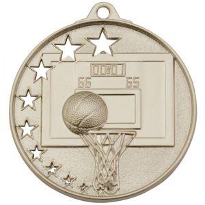 Basketball Medal Gold
