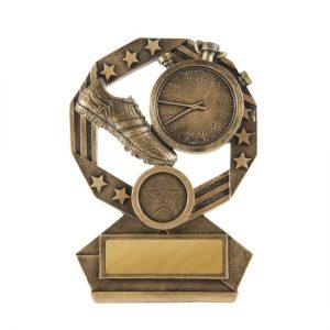 Bronzed Aussie Series Athletics Trophy With 25mm Centre