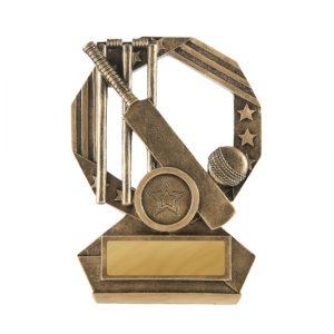 Bronzed Aussie Series Cricket Trophy With 25mm Centre