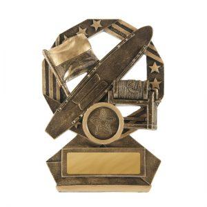 Bronzed Aussie Series Surf Lifesaving Trophy With 25mm Centre