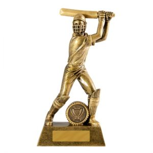 All Action Series Batsman Female Cricket Trophy With 25mm Centre