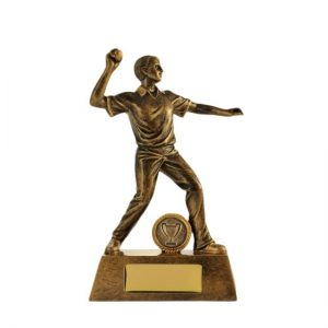 All Action Series Fielder Male Cricket Trophy With 25mm Centre