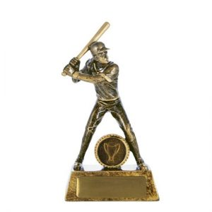 All Action Series Female Baseball/Softball Trophy With 25mm Centre