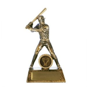 All Action Series Male Baseball/Softball Trophy With 25mm Centre
