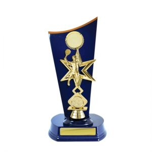 Wave Timber Trophy With 25mm Centre