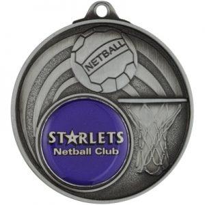 Netball Medal – Insert Option