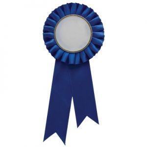 Blue Rosette w/ Clip 210mm