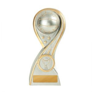 Galaxy Series Netball Trophy with 25mm Centre