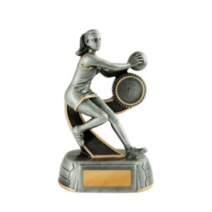 MegaStar Series Netball Trophy with 25mm Centre