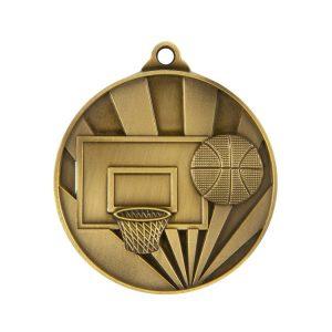 1077-7BR: Sunrise Medal-Basketball