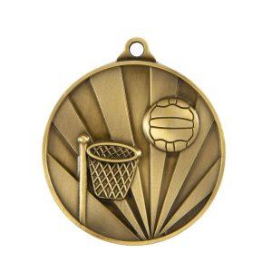 1077-8BR: Sunrise Medal-Netball