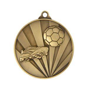 1077-9BR: Sunrise Medal-Football