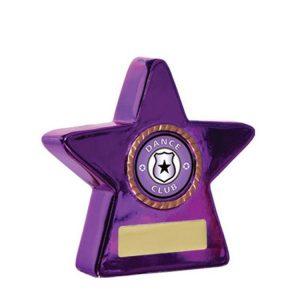 563-1PU: Star Stand-Purple