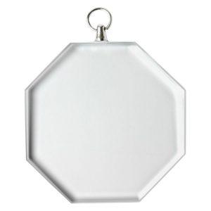 Glass Medal – Octagon