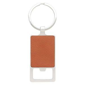 Leatherette Keychain – Bottle Opener