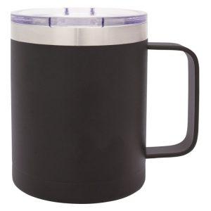 Black Camper Mug