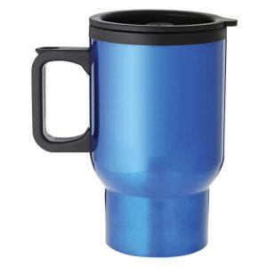 Blue Travel Mug with Handle