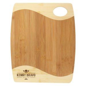 Bamboo Board Two Tone & Handle
