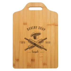 Bamboo Board with Slot Handle