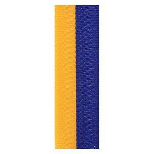 Blue / Gold Ribbon