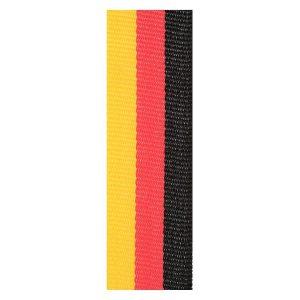 Black / Red / Gold Ribbon
